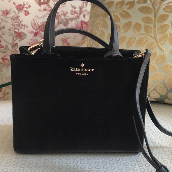 Kate Spade Thompson Street Velvet Sam Handbag